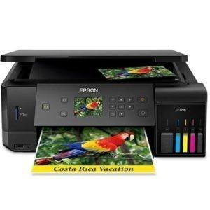 EPSON Expression Premium ET-7700 EcoTank All-in-One Supertank Printer
