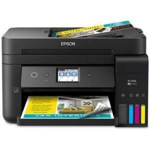 EPSON WorkForce ET-4750 EcoTank All-in-One Supertank Printer