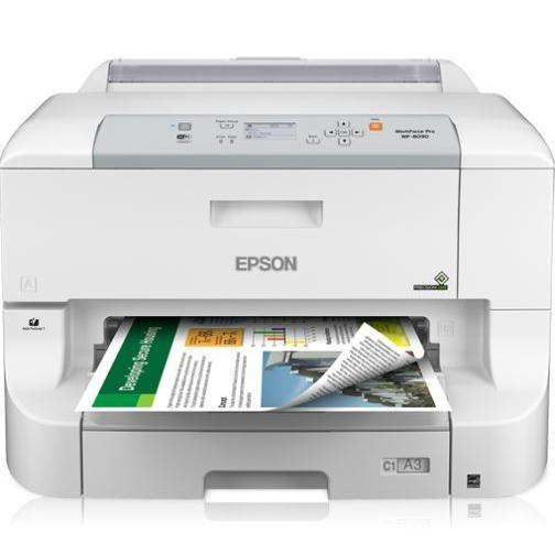 EPSON WorkForce Pro WF-8090 Network Color Printer with PCL Postscript