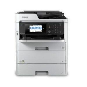 EPSON WorkForce Pro WF-C579R Workgroup Color MFP with Replaceable Ink Pack System