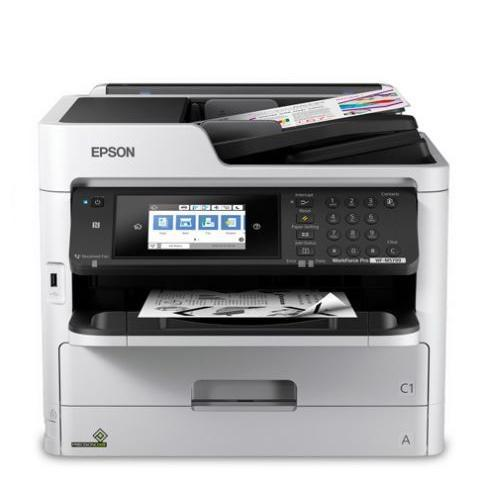 EPSON WorkForce Pro WF-M5799 Workgroup Monochrome Multifunction Printer with Replaceable Ink Pack System