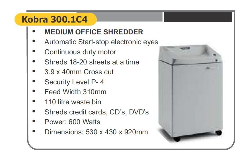medium office shredder